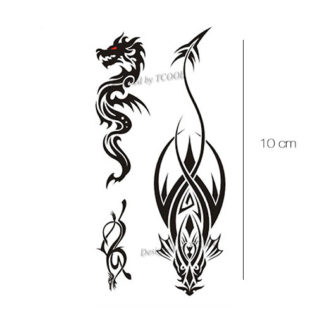 draken tattoo sticker