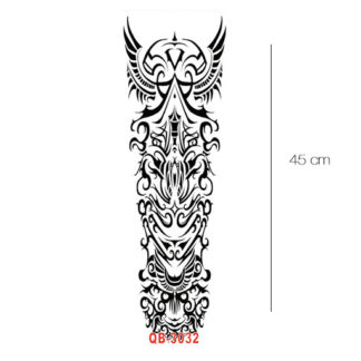 tribal sleeve tattoo sticker