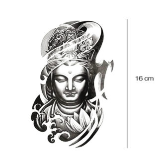 Boeddha tattoo sticker