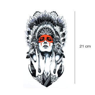 Indiaanse tattoo sticker