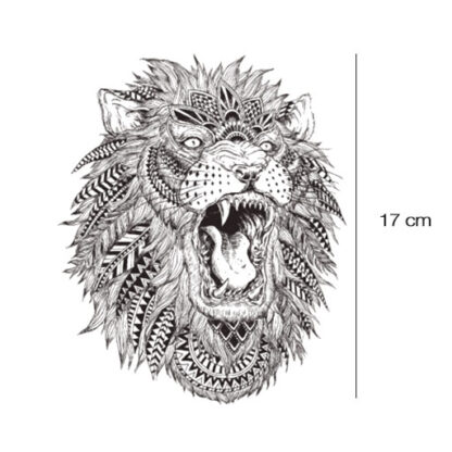 Lion Tattoo sticker