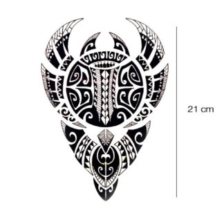 Maori tattoo sticker